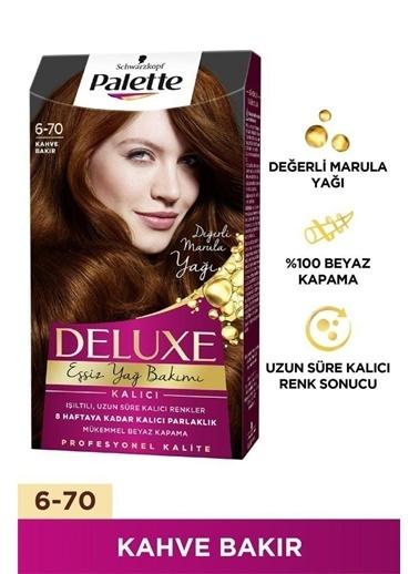 Palette Palette Deluxe 670 Kalıcı Kahve Bakır Kahve
